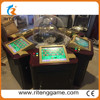 6 Player Touch screen Operating mode roulette game table indoor amusement games gambling machine touch screen