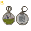 Waterproof qr code pet id collar tags with serial id number