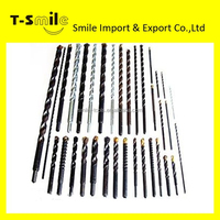 high quality professional nickel plated concrete hammer drill bit
