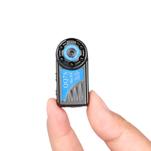 1080p high quality night vision recording after motion detection with 800MA battery peephole camera mini hidden camera QQ7S