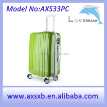2015 fashion trolley luggage abs / polycarbonate trolley case abs/pc aluminum trolley case