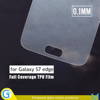 2016 Perfect Fit for Samsung Galaxy S7 edge TPU Mobile Phone Screen Protectors
