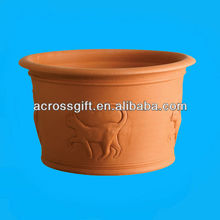Cat Terracotta Pots