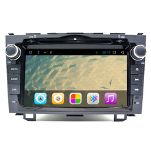 HD Quad Core A9 1.6GHz 1024X600 Android 6.0 Car DVD Player For Honda CRv 2006-2011 4G WiFi GPS Navigation Stereo Video SD