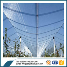 100% virgin HDPE raspberry anti hail net