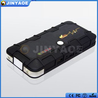 2015 Newest !! 5v/2a usb input 12000mah emergency multi-function car jump start battery