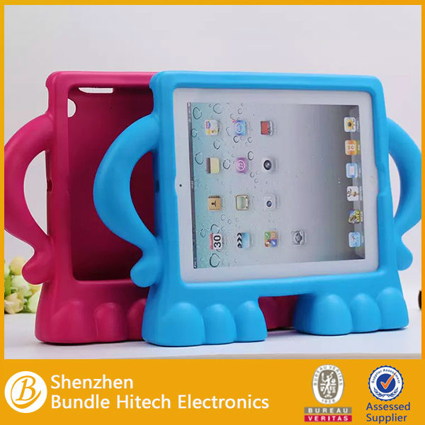 Kids Eva Handle Shockproof case, Stand Case Cover for iPad 2/3/4,for ipad kid case