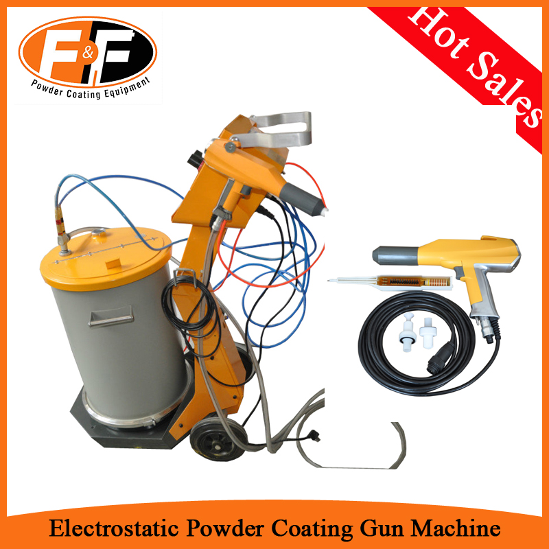FEIFU-800D Electrostatic Powder Coating Spray Machine with 60L Fluidization Hopper