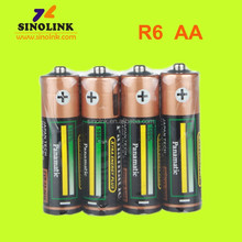 Panamatic shrink wrap R6 SIZE AA UM3 1.5V Battery Zinc Carbon battery trading companies