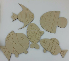 Educational Toys wooden sculpture craft fish