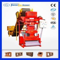 eco premium 2700 automatic clay brick manufacturing plant, earth brick molding machine