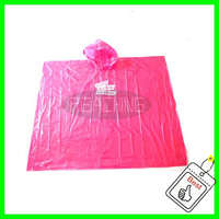 Polyester Rain Poncho/Raincoats for Women