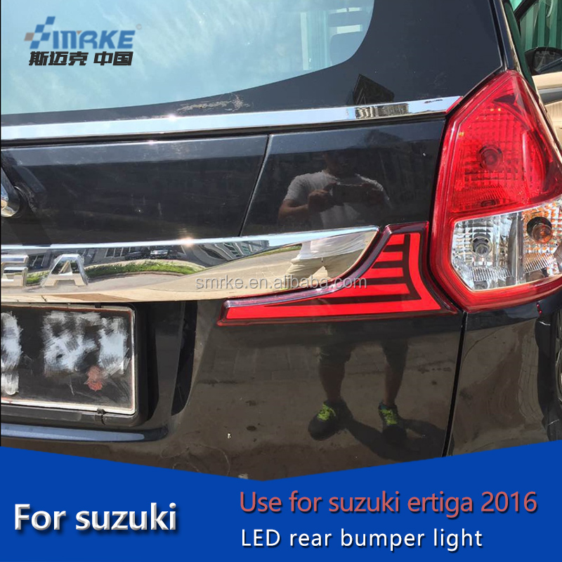 wholesale and retail car accessories for suzuki ertiga 2016 bumer light, tail light