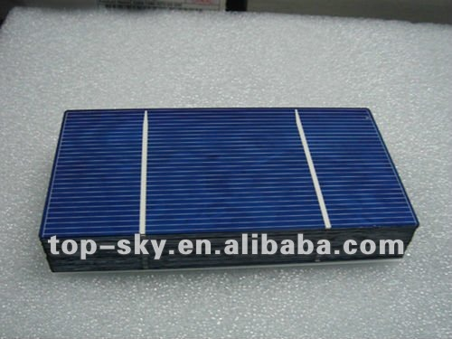 2015 A grade hottest 3x6 poly solar cell,2 bus bar,good quality with low price