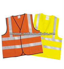 Security Working high visibility vest with Reflective Strip