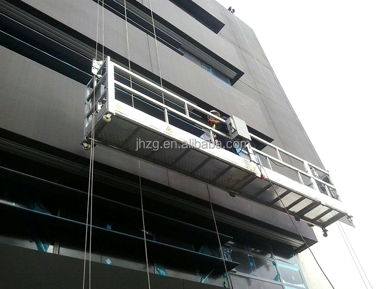 ZLP800 Aluminum suspended working platform/suspended scaffolding(CE GOST certification)