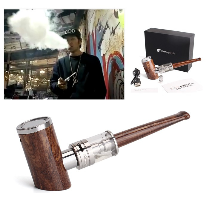 Newest arrival e-pipe model k1000 plus stand up electronic cigarette