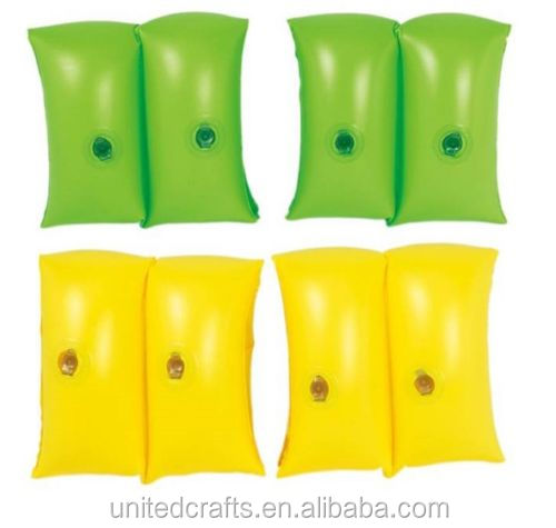 Kids / Children Swimming Inflatable Arm Band A Pair Summer Water Fun Pool Beach