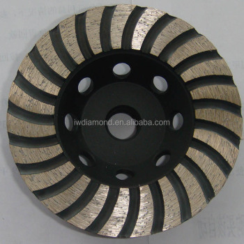 150mm for concrete for granite wide turbo diamond cup grinding wheel