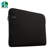 15.6 Inch waterproof neoprene laptop sleeve with top zipper