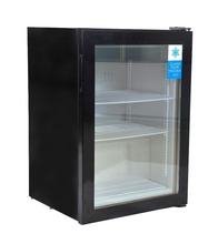 98L Portable Single Temperature Glass Door Mini Deep freezer SD98
