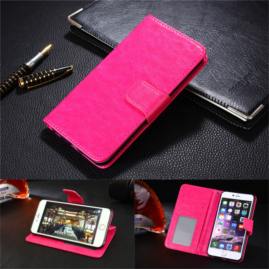 For LG G3 Stand Wallet Cover Hit Color Leather Card Slot Flip Mobile Phone Case