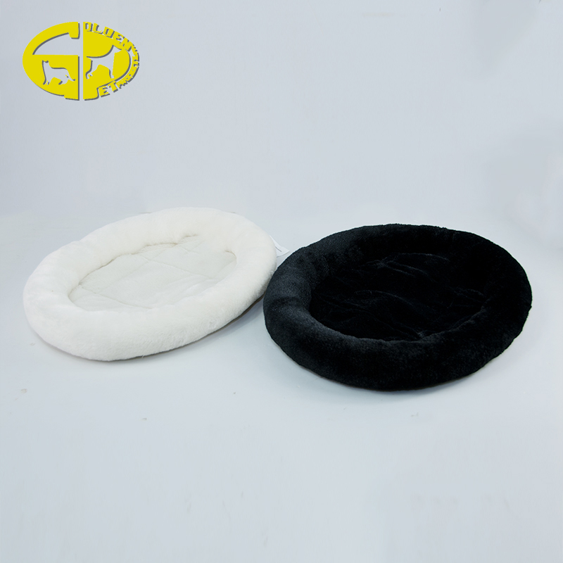 Wholesale Round Dog Bed Candy Color Comfort Soft Luxury Pet Bed