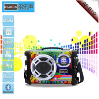 portable bluetooth speaker with karaoke function can paly music in outdoor and small family party