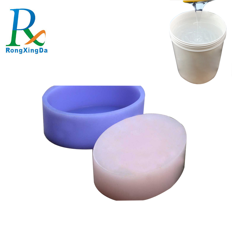 Good price liquid silicone rubber for soap mold making + injection molding