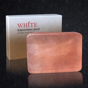 Good Feedback Black Skin Instant Whitening Deep Cleaning Handmade Body Face Wash Soap For Women Men Skin Care Brightening
