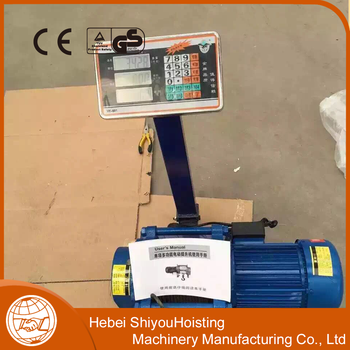 High quality easy to use electric hoister lifting hoister