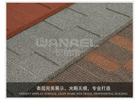 factory direct decorative metal sheet roof shingle
