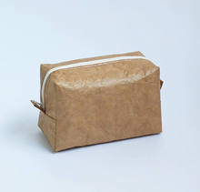 Wholesale tyvek paper small custom cosmetic bag