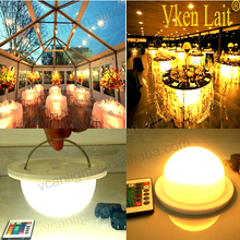 Fast Free Shipping Cordless Battery Under Table Led Light For Wedding Event