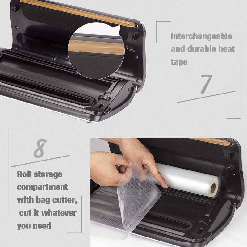TOP quality vacuum sealer for moist and dry food,food saver vacuum sealer with lowest price