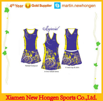 Wholesale custom sublimated sexy netball skirt with zip