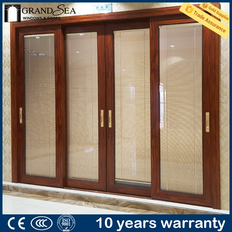 Australia standard double tempered glass ball bearing for sliding door picture