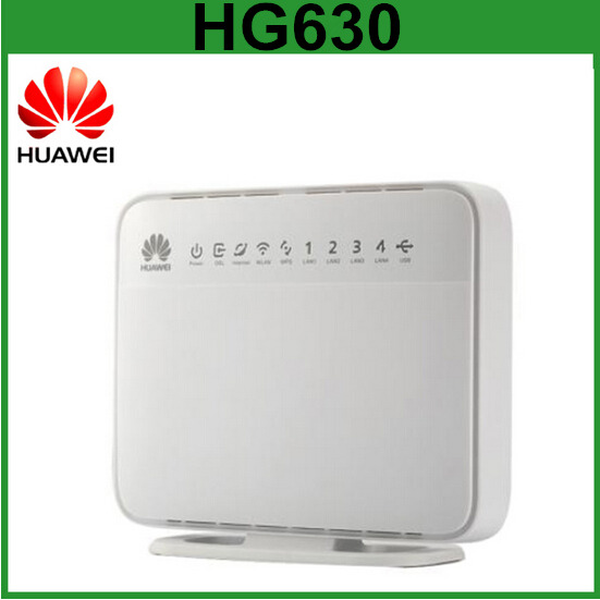 Huawei HG630 DSL Wireless Wifi Router Modem with RJ45 Port