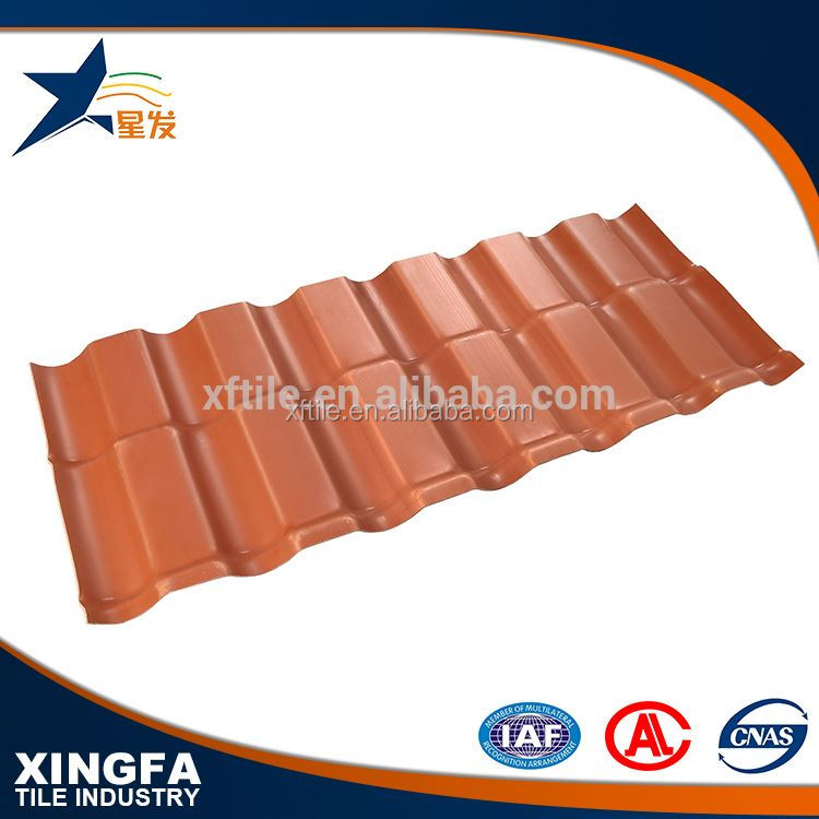 Good shock resistance new building construction materials spanish red clay roof tiles