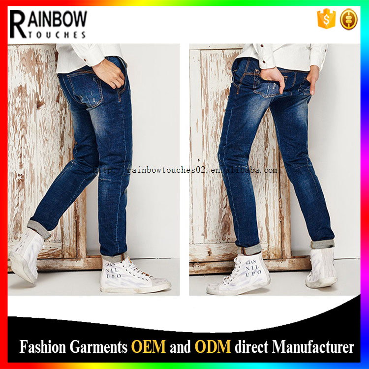 Slim Top Design Wholesale Price Manufacturers Funky Denim Ultra Low Rise Jeans
