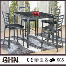 High quality cheap solid wood table set UB-MT180H Xiamen bar furniture supplier with low price