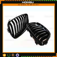 ABS kidney front bumper grill F22 228i 235i Carbon Fiber Mesh Grill Grille for bmw 2014-2015