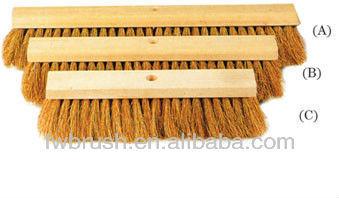 40cm coco wooden floor brush headbroom fsc