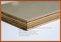 Acrylic Plywood Board For Kitchen Cabinet Doors From ZHUV Company