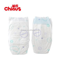 Best selling disposable baby diapers with blue film