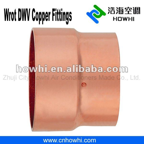 DWV copper fitting, Bushing - FTG x C, for water pipe system