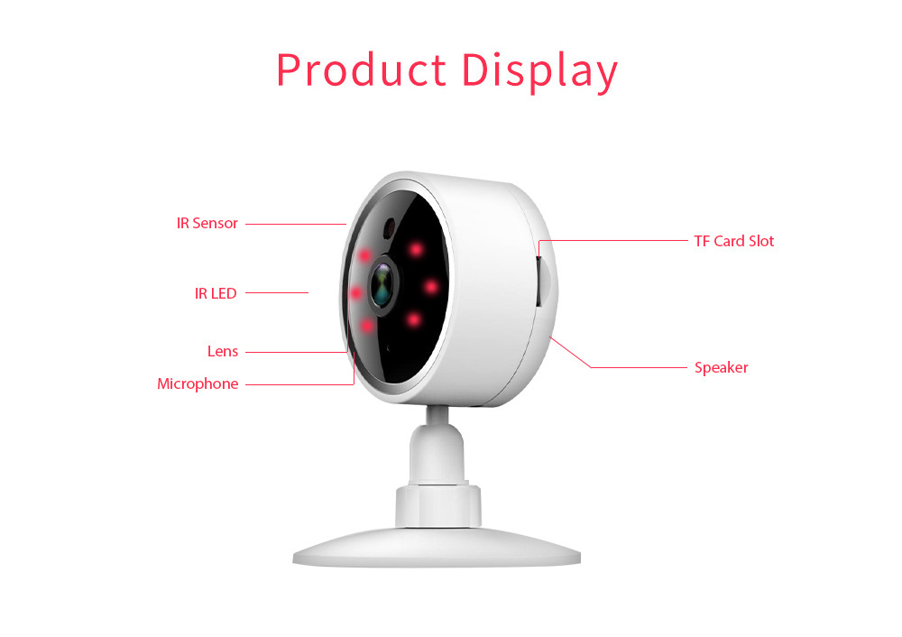 Tuya 1080p indoor wireless wifi home ip security camera