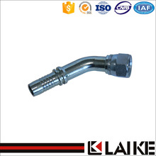 High Pressure 45 Degree BSP female maltose tube fitting hydraulic hose crimping fittings