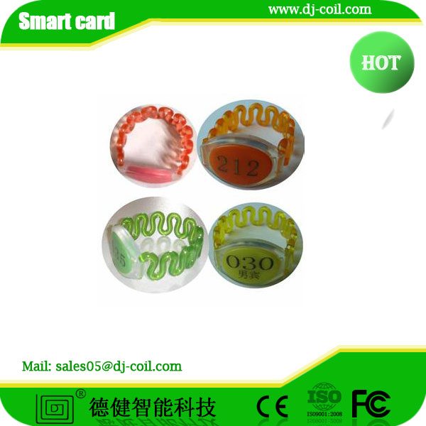 125KHz Swimming Pool RFID Silicone Wristbands,RFID wristband , silicon and plastic