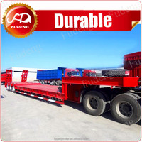 transport wind blade low bed extendable trailer, 43m extendable trailer